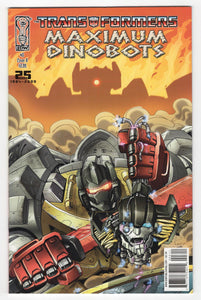Transformers Maximum Dinobots #3 Variant Cover Front