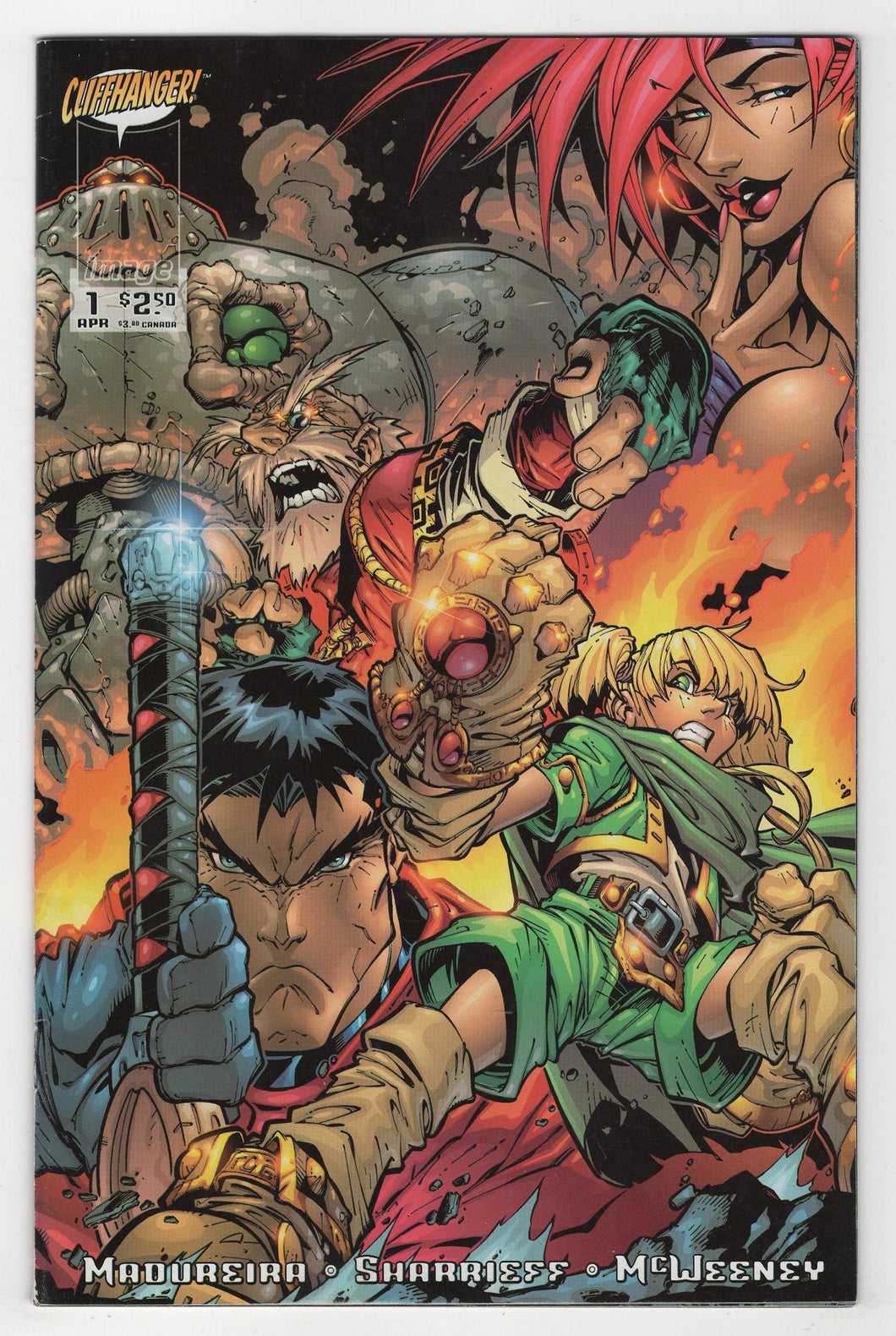 Battle Chasers #1 Variant Cover Front