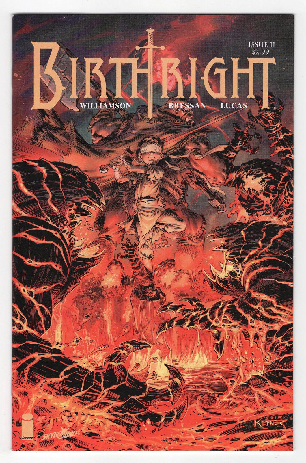 Birthright #11 Variant Cover Front