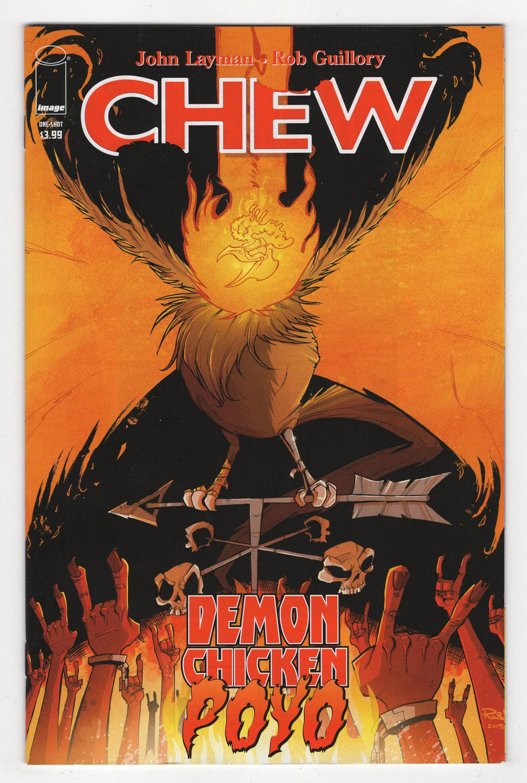 Chew Demon Chicken Poyo One Shot Cover Front