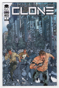 Clone #1 Cover Front