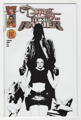 Darkness and Tomb Raider #1 Variant Cover Front