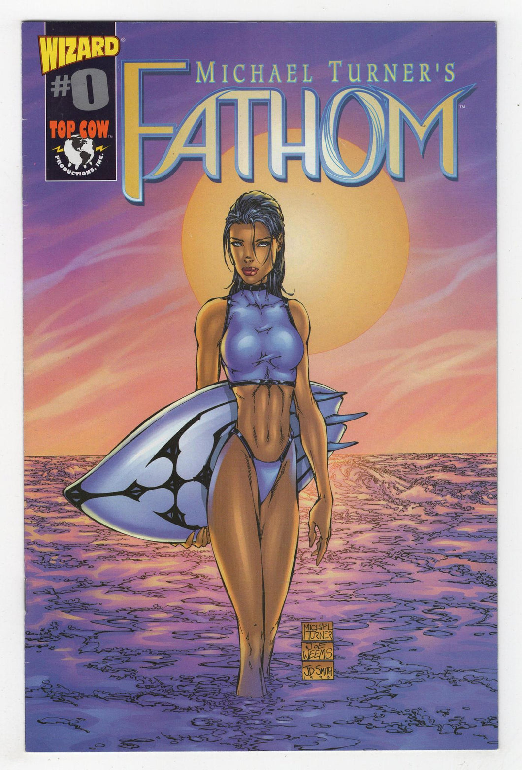 Fathom Wizard #0 Cover Front