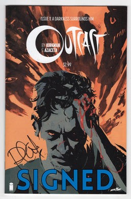 Outcast #1 Cover Front Signed