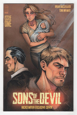 Sons of the Devil #1 Variant Cover Front