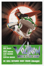 Voltron #0 Cover Back