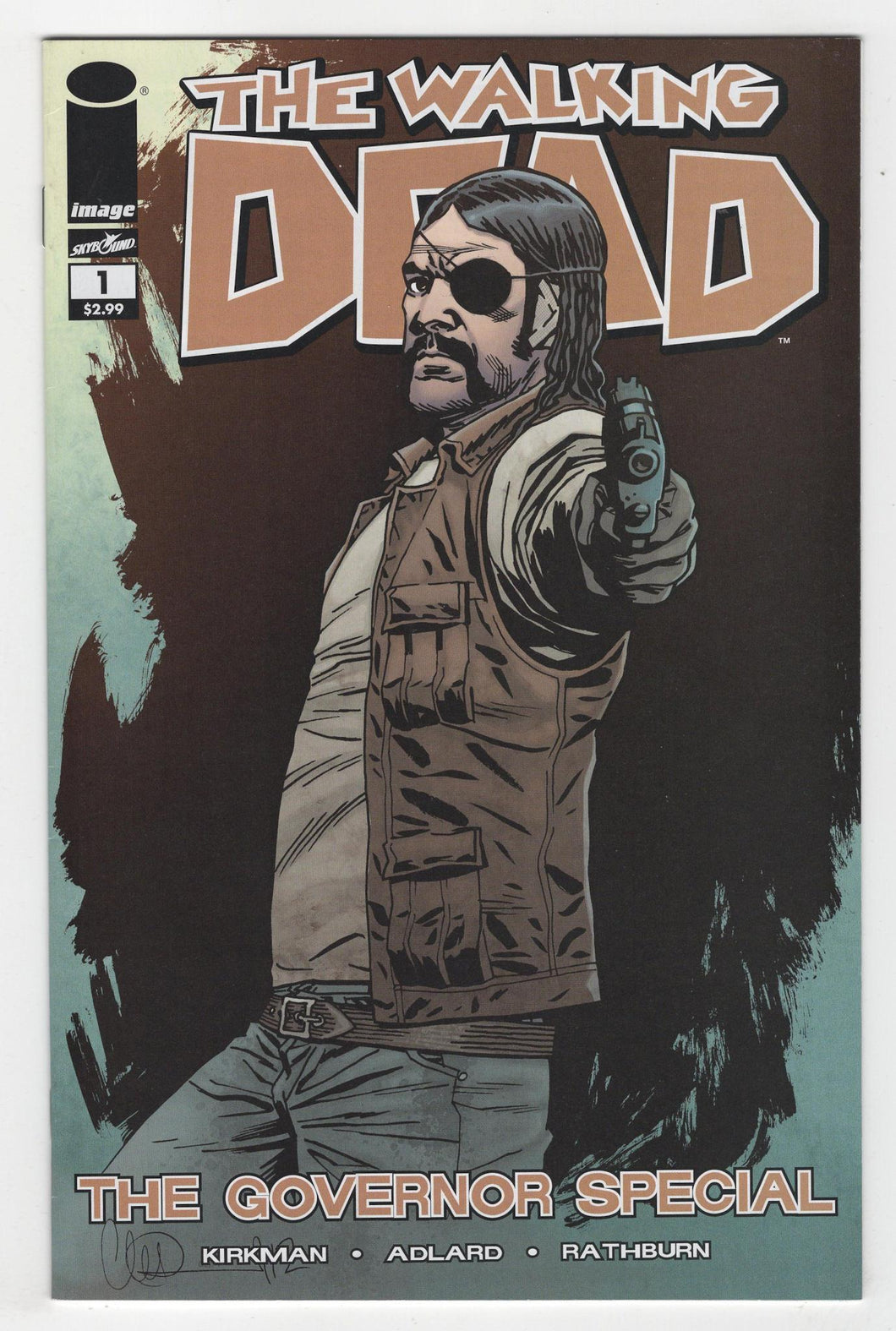 Walking Dead Governor Special #1 Cover Front
