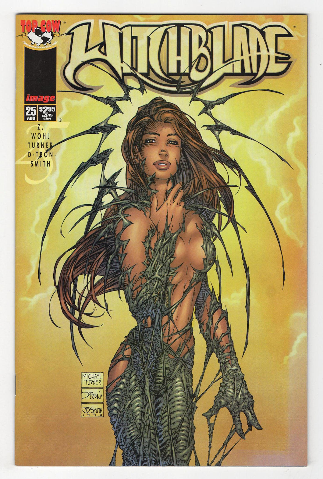Witchblade #25 Cover Front