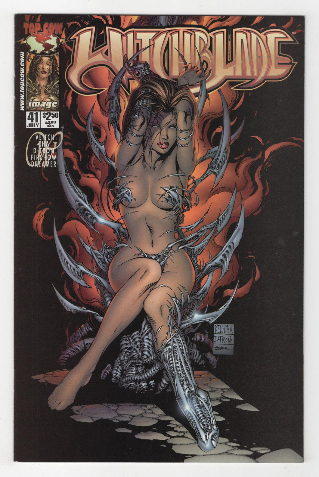 Witchblade #41 Cover Front