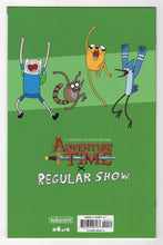 Adventure Time Regular Show #4 Variant Cover Back