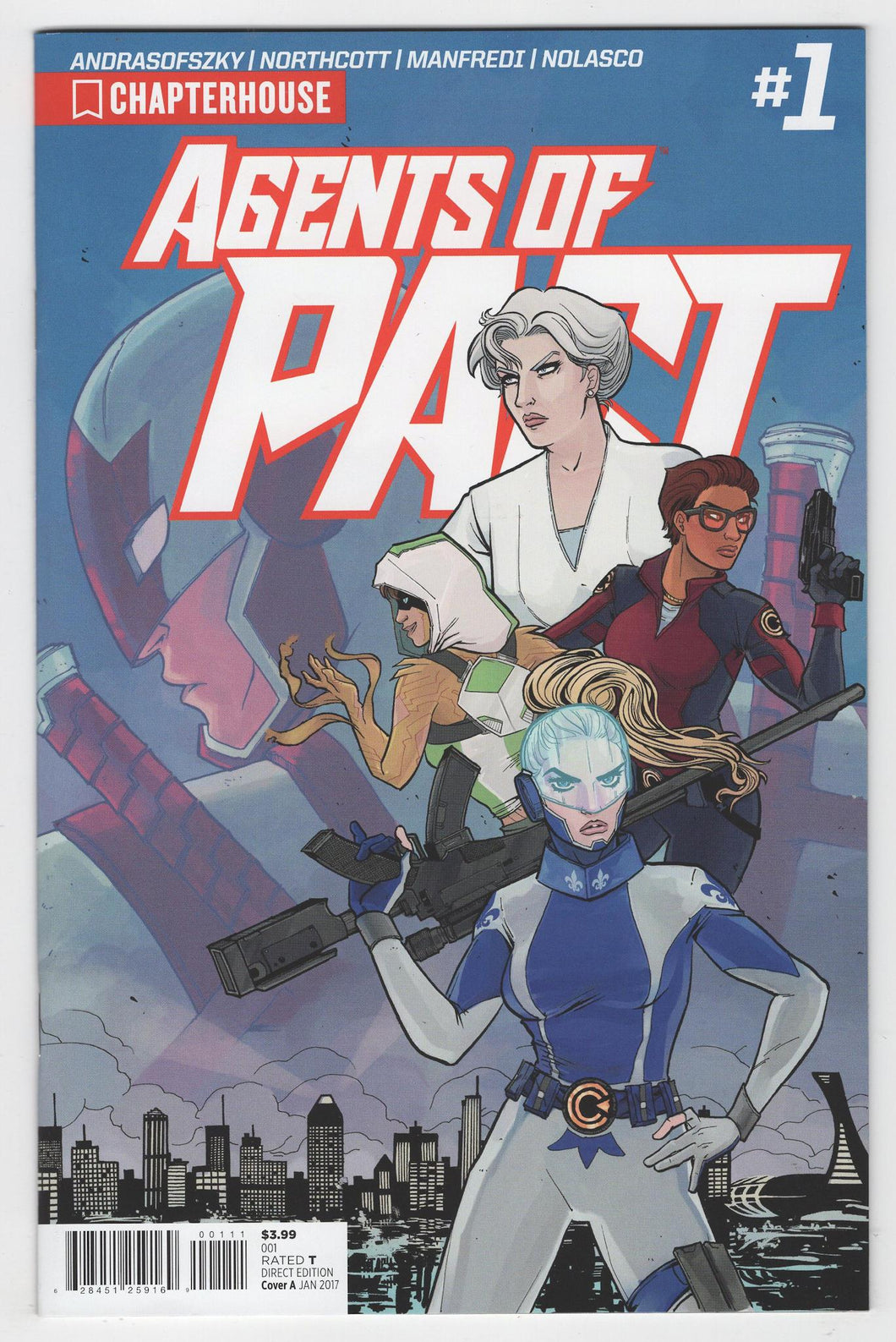 Agents of PACT #1 Cover Front