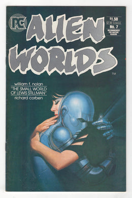 Alien Worlds #7 Cover Front