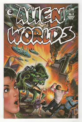 Alien Worlds #8 Cover Front