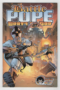 Battle Pope Wrath of God #1 Cover Front