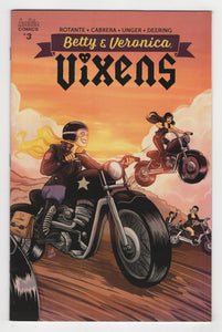 Betty and Veronica Vixens #3 Cover Front