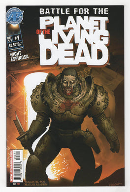 Battle For the Planet of the Living Dead #1 Cover Front