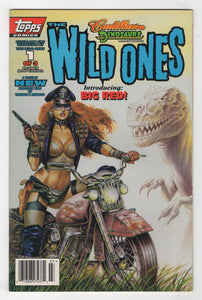 Cadillacs and Dinosaurs #7 Cover Front