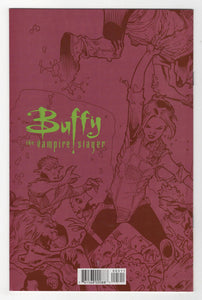 Buffy the Vampire Slayer #5 Cover Back