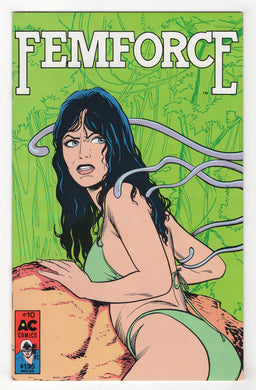 Femforce #10 Cover Front