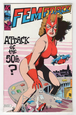 Femforce #5 Cover Front
