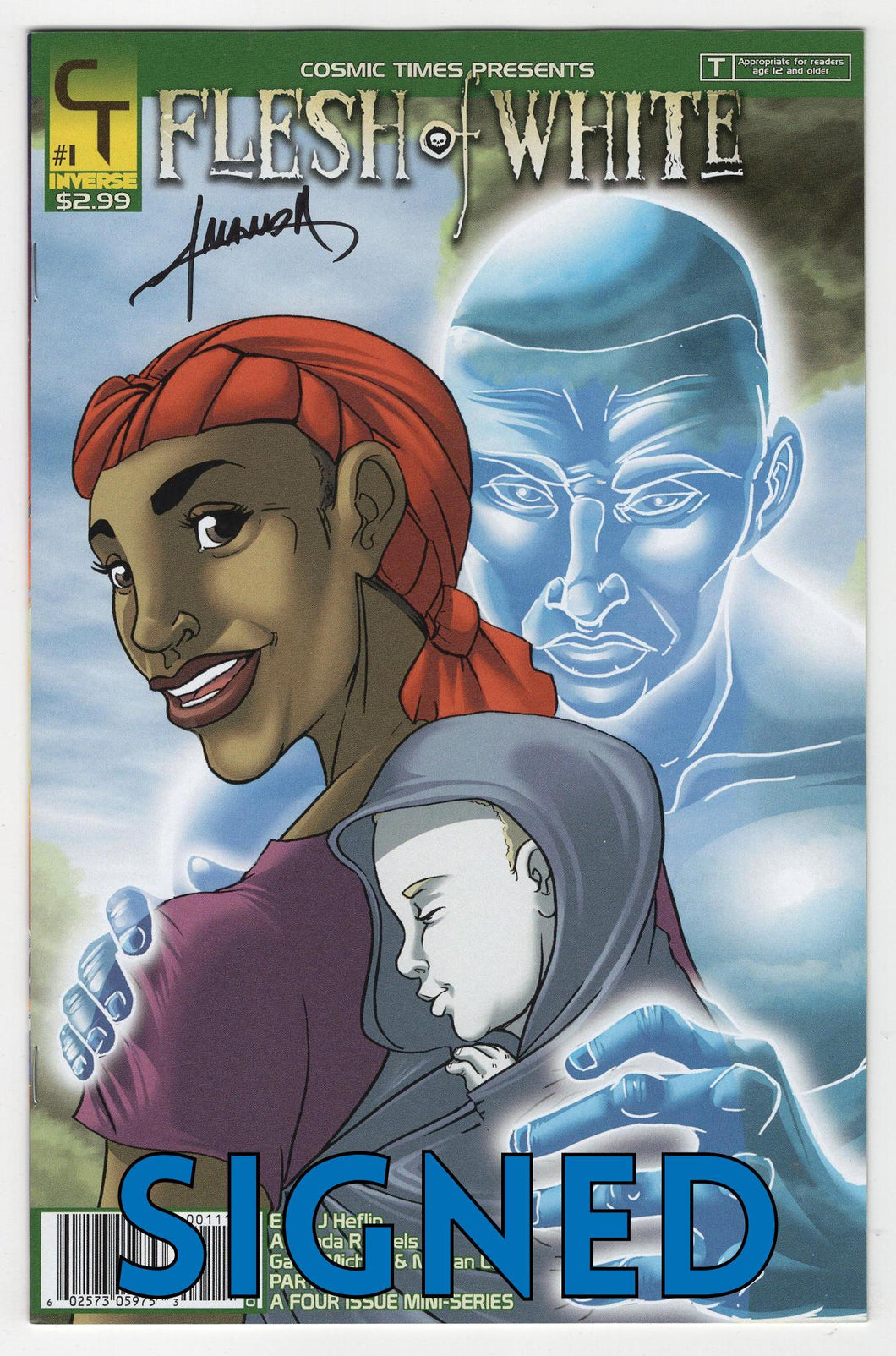 Flesh of White #1 SIGNED Cover Front