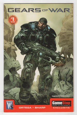 Gears of War #1 Variant Cover Front