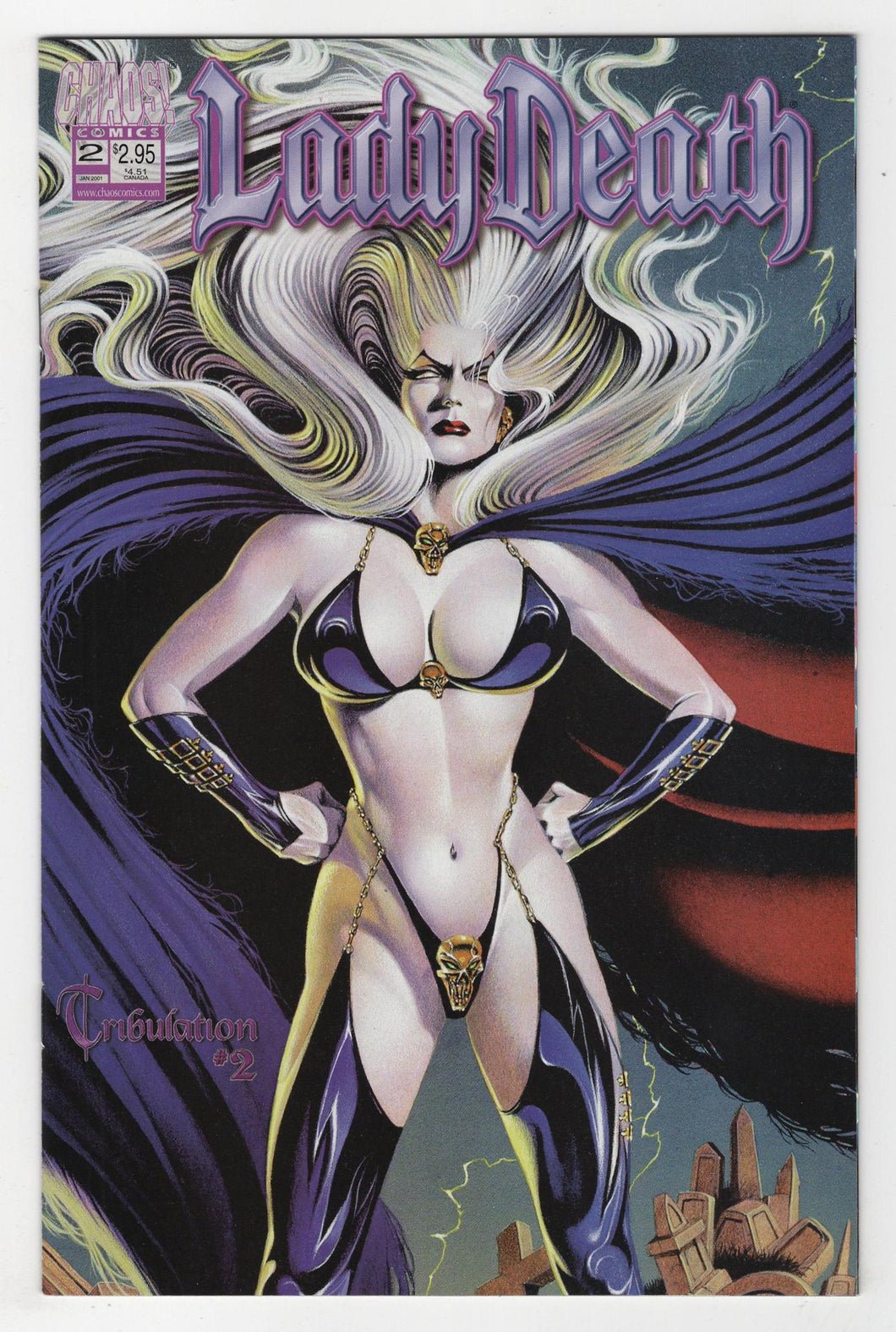 Lady Death Tribulation #2 Cover Front