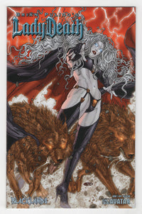 Lady Death Blacklands #1 Variant Cover Front