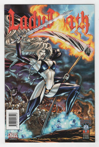Lady Death Judgement War #1 Cover Front