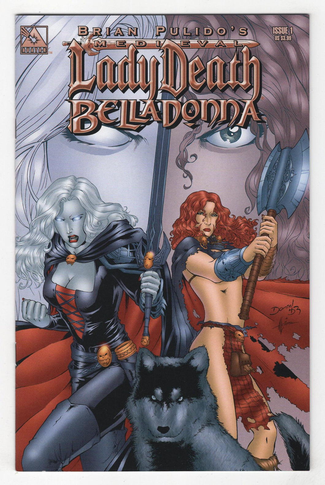 Medieval Lady Death Belladonna #1 Cover Front