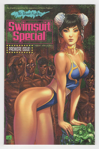 Street Fighter 2016 Swimsuit Special Variant Cover Front