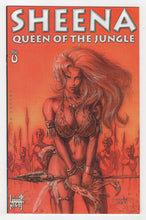 Sheena Queen of the Jungle #0 Variant Cover Front