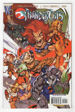 Thundercats #0 Cover Front