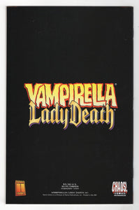 Vampirella Lady Death #1 Cover Back