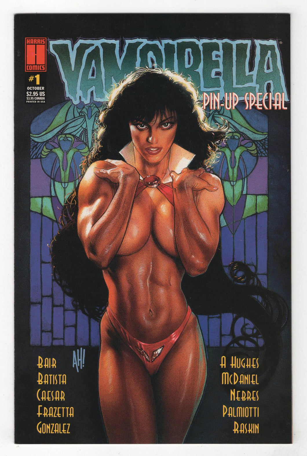 Vampirella Pin Up Special #1 Cover Front