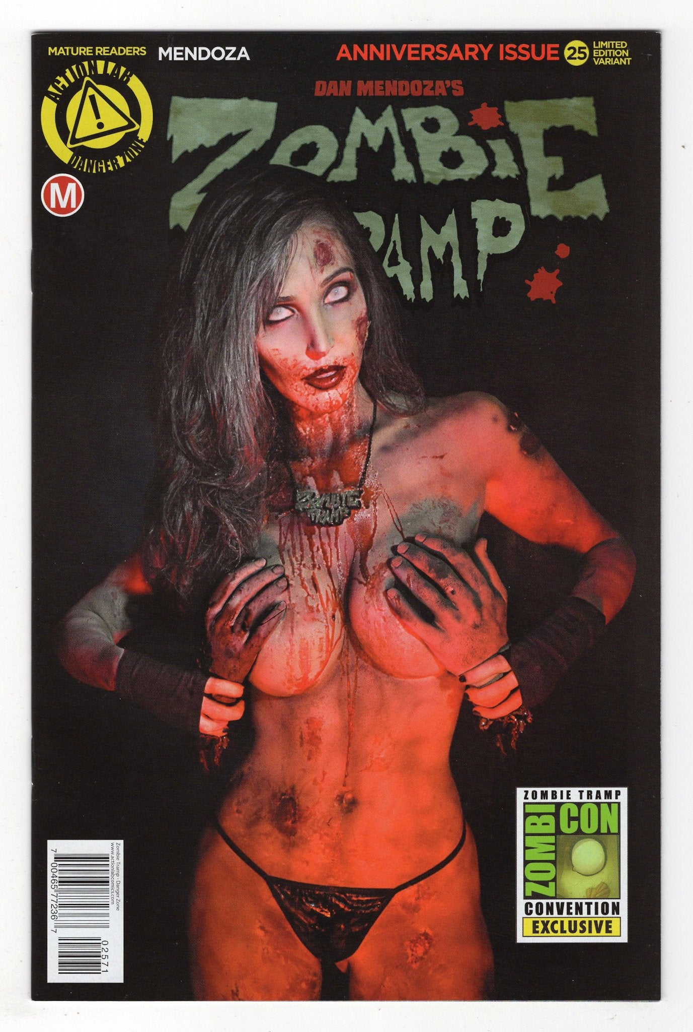 Zombie Tramp 25 Zombicon Photo Variant Cover 2016 Spencer Comics