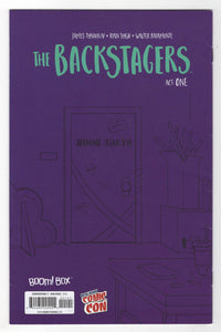 Backstagers #1 Variant Cover Back