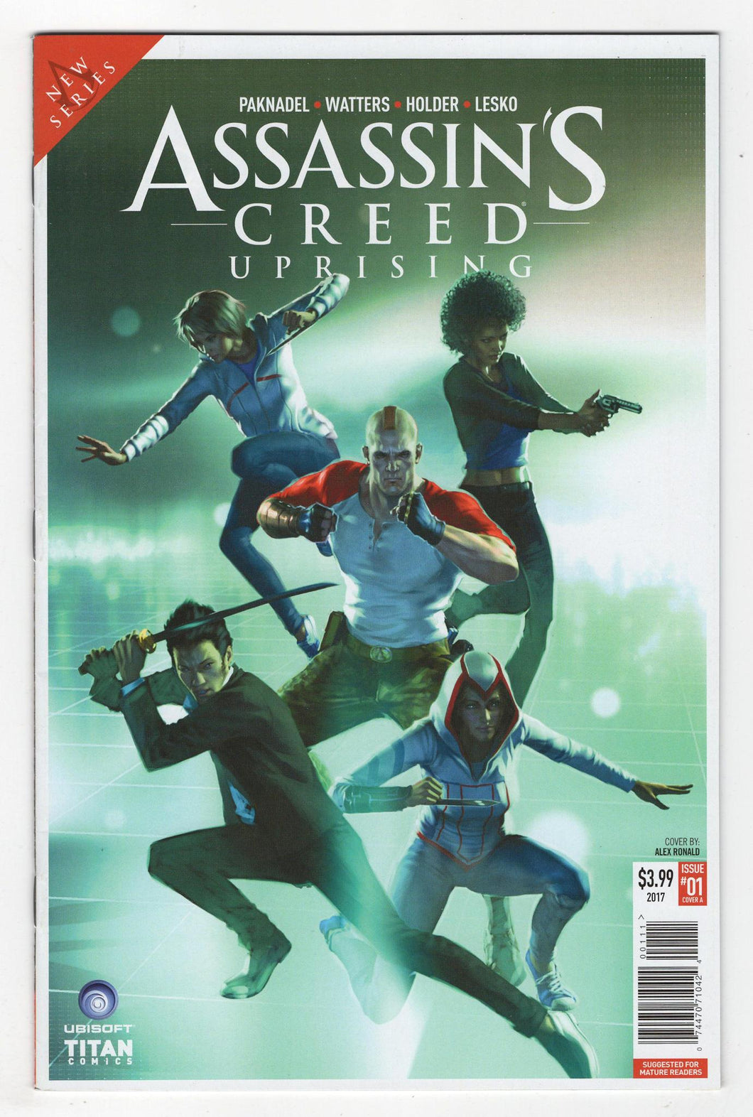 Assassins Creed Uprising #1 Cover Front