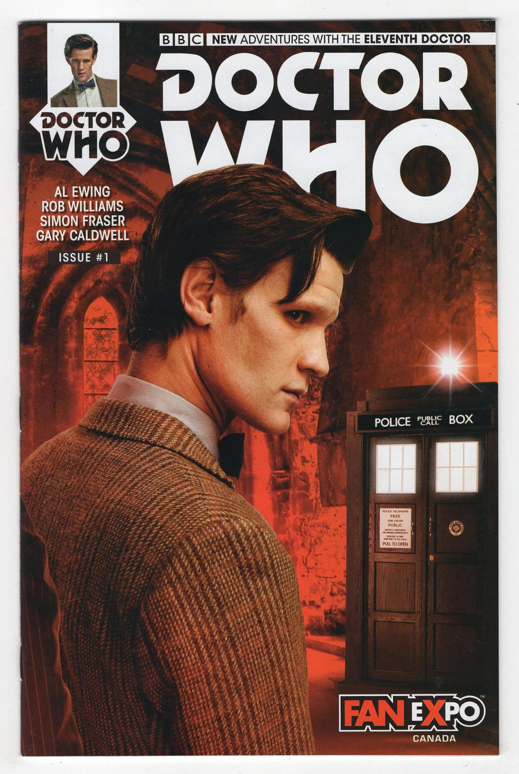 Doctor Who the Eleventh Doctor #1 Variant Cover Front