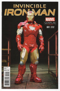 Invincible Iron Man #1 Variant Cover Front