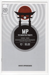 Manhattan Projects #1 Variant Cover Front