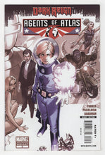 Agents of Atlas #2 2nd Printing Variant Cover Front