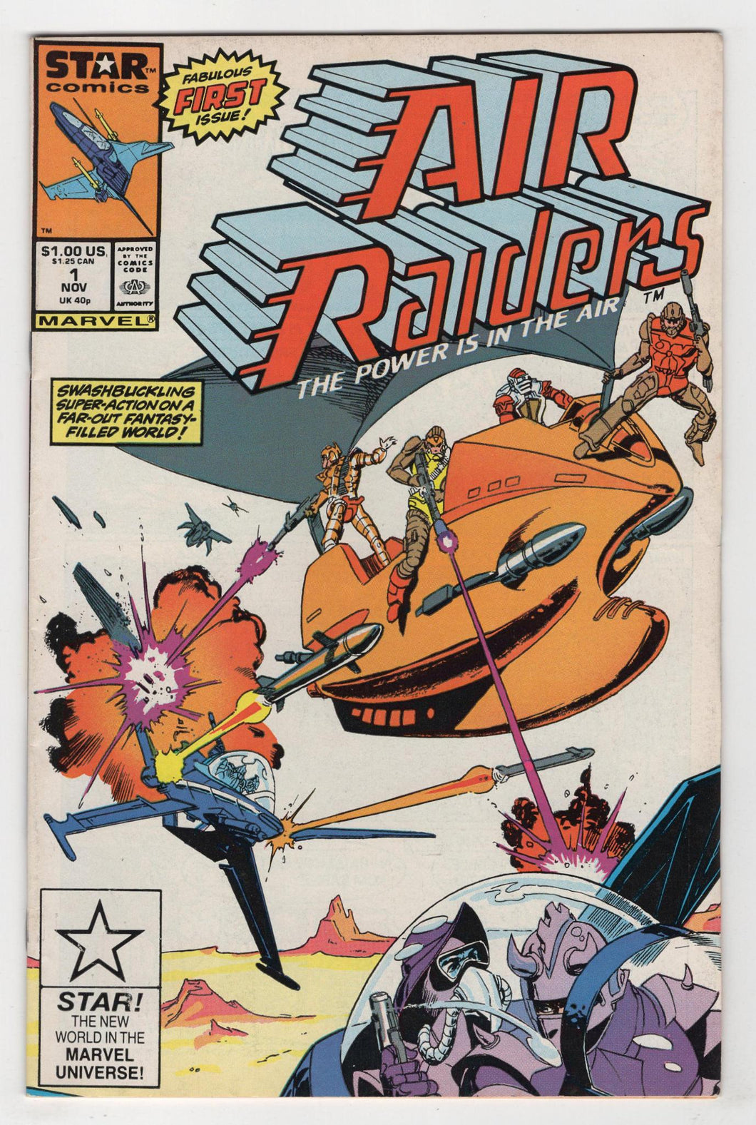Air Raiders #1 Cover Front