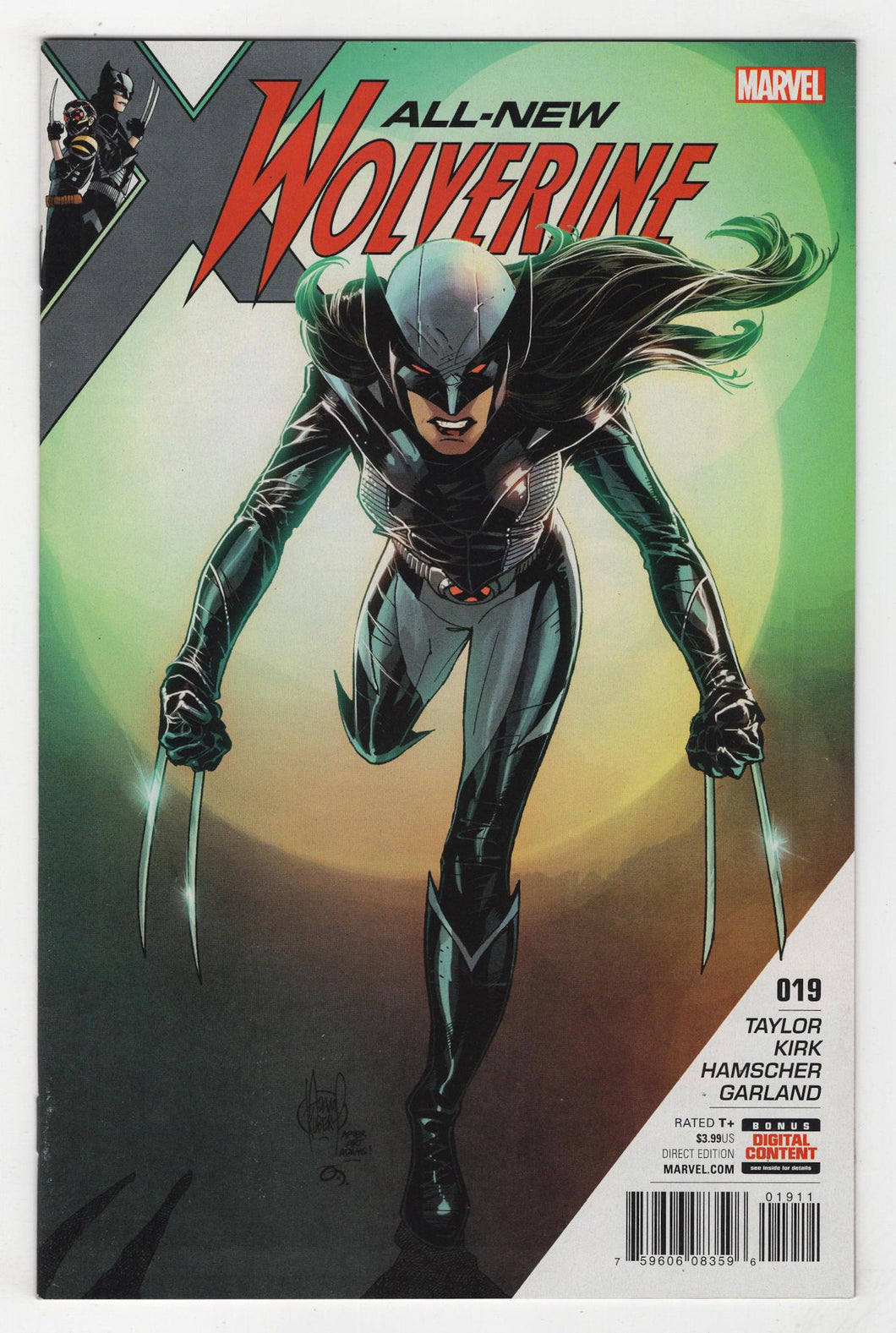 All New Wolverine #19 Cover Front