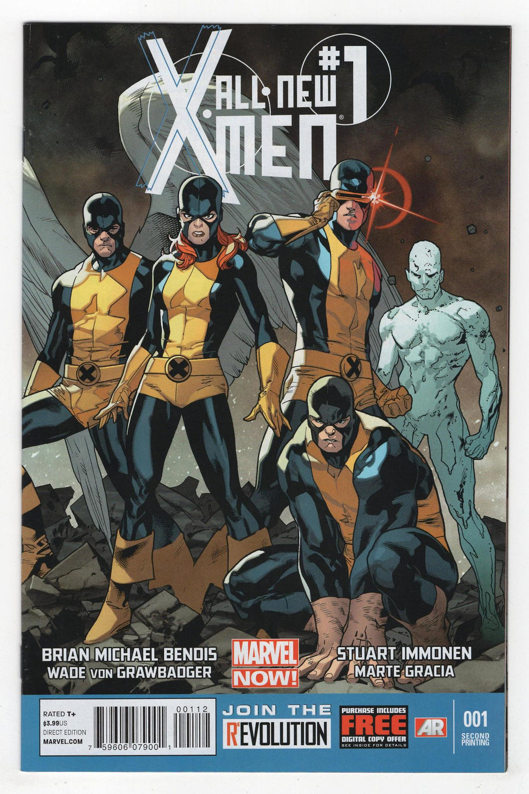 All New X-Men #1 2nd Printing Cover Front