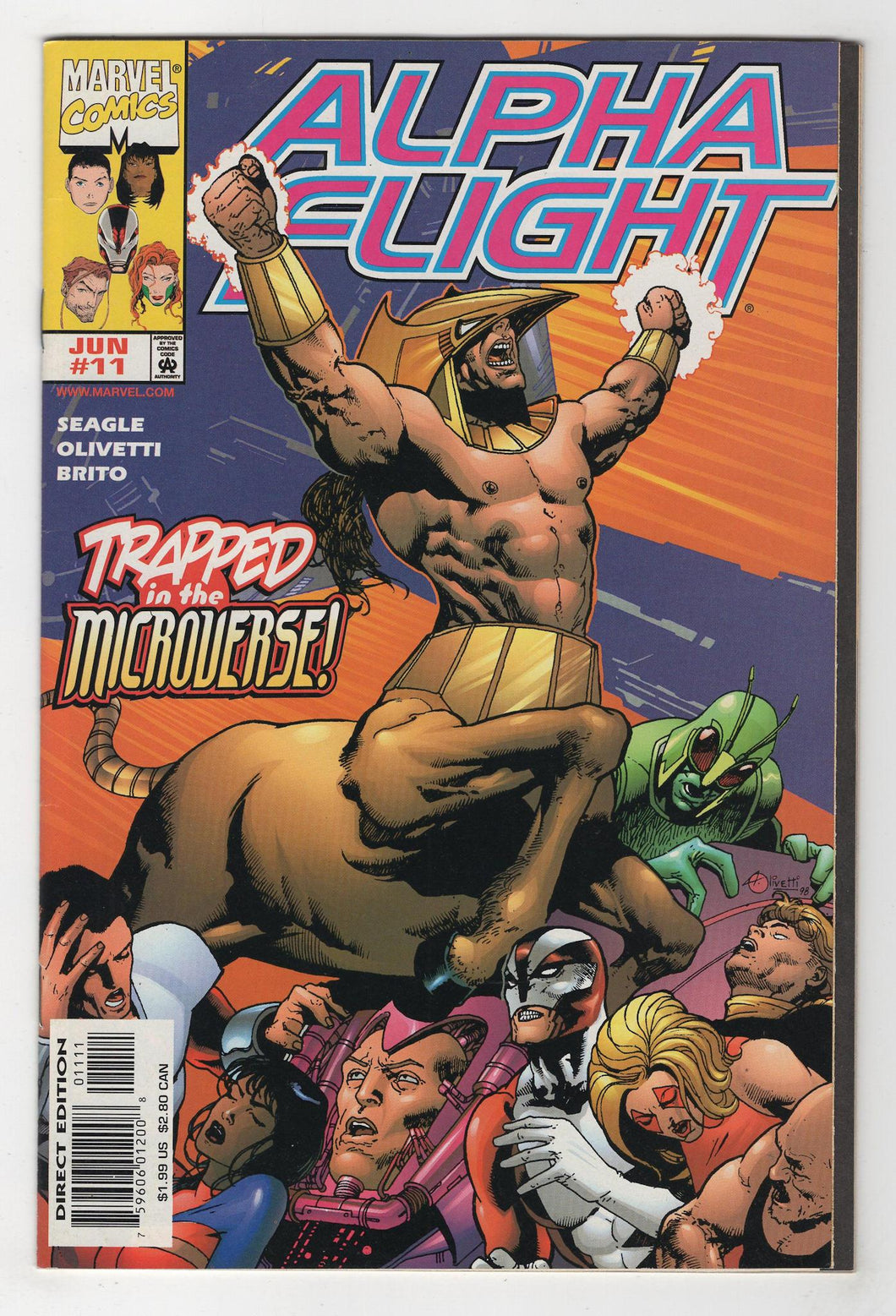 Alpha Flight #11 Cover Front