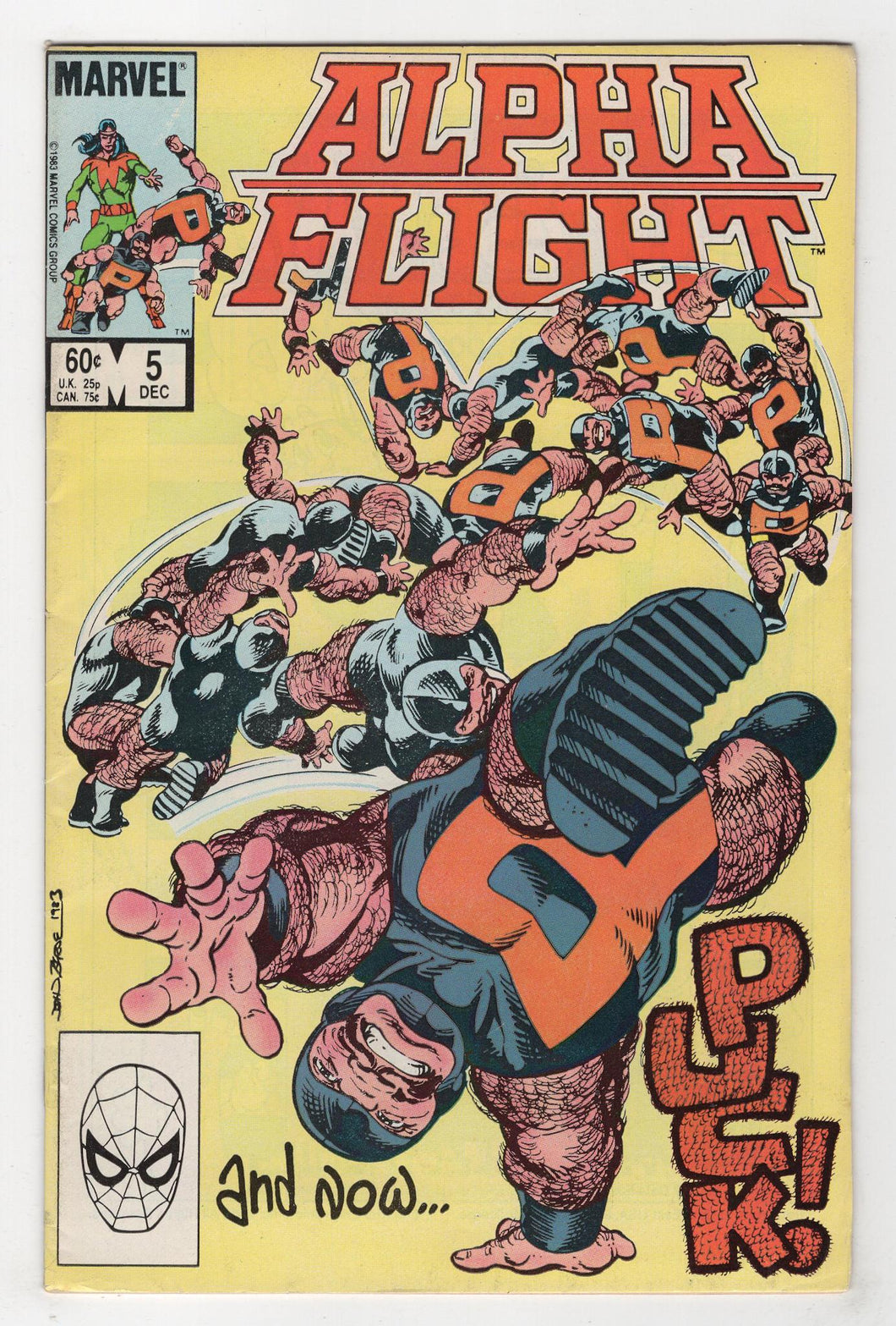 Alpha Flight #5 Byrne Cover Front