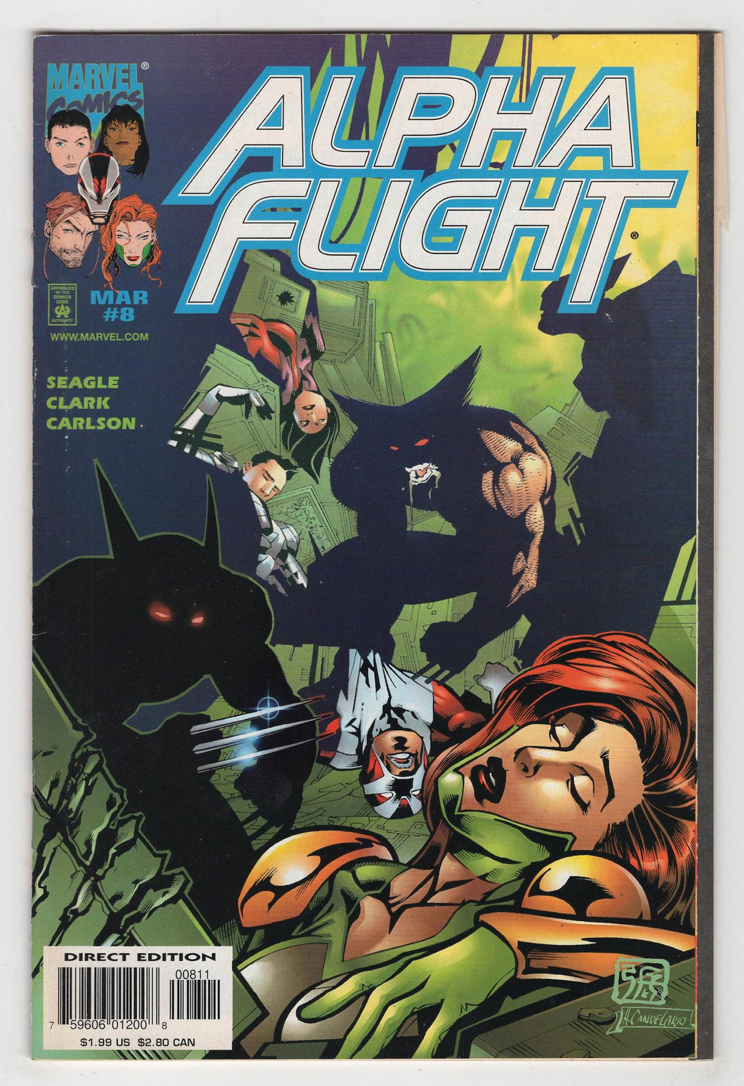 Alpha Flight #8 Cover Front