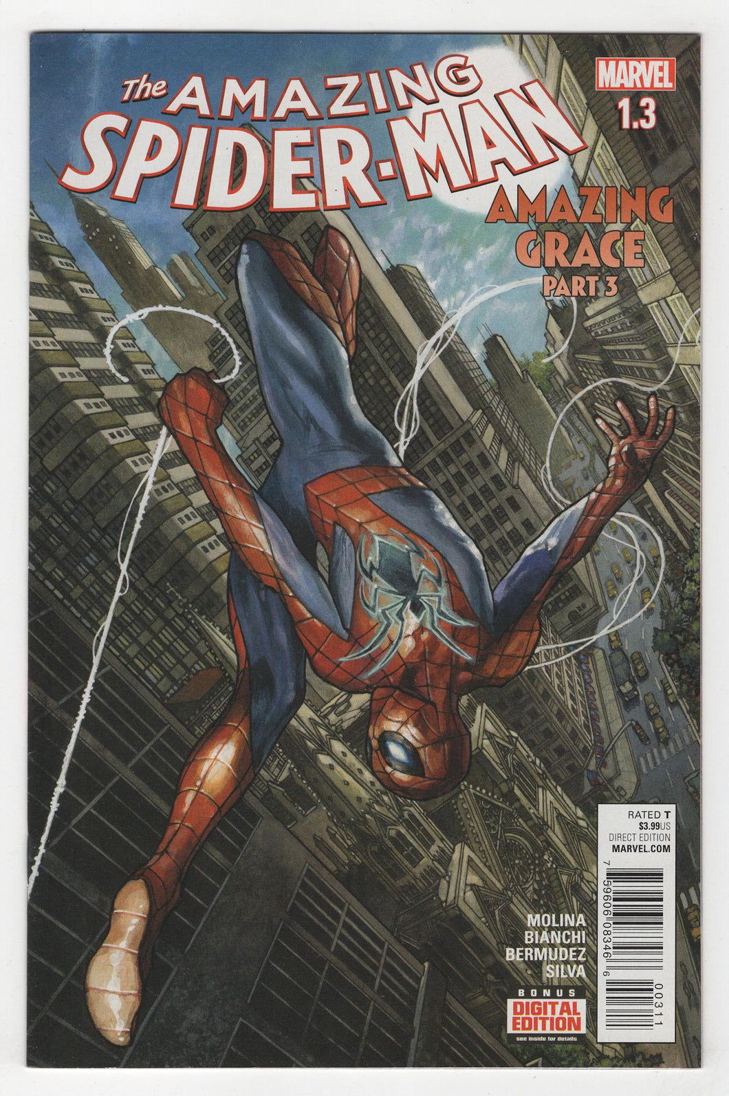 Amazing Spider-Man #1.3 Cover Front