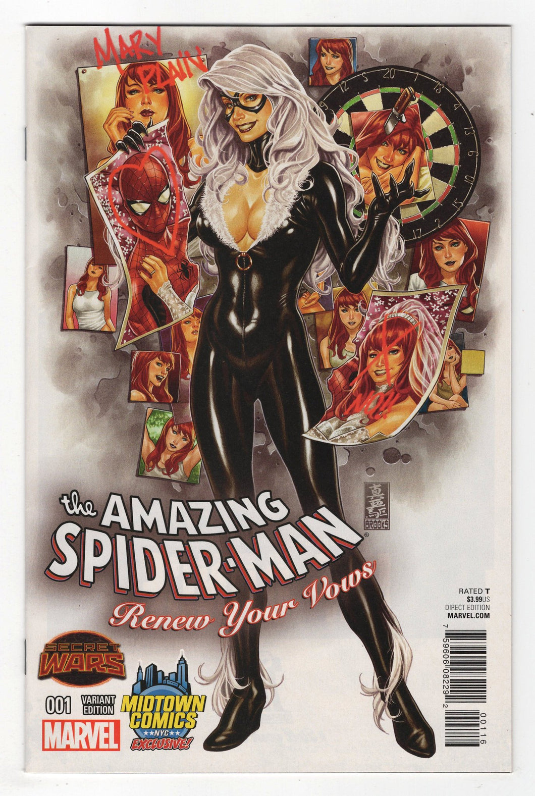 Amazing Spider-Man Renew Your Vows #1 Midtown Variant Cover Front